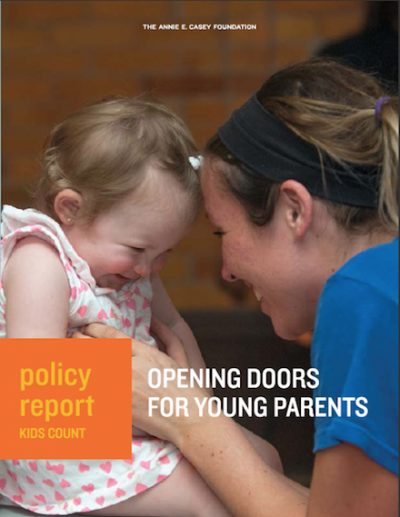 Opening Doors for Young Parents cover