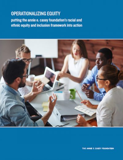 AECF Operationalizing Equity 7 2017 cover