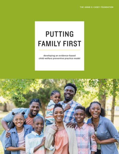 Cover image for Putting Family First paper