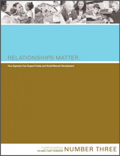 AECF Relationships Matter 2006 cover