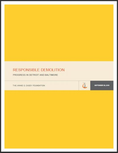 Cover image for Responsible Demolition