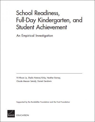 AECF School readiness 2006