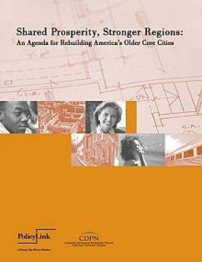 AECF Shared Prosperity Stronger Regions 2011 Cover