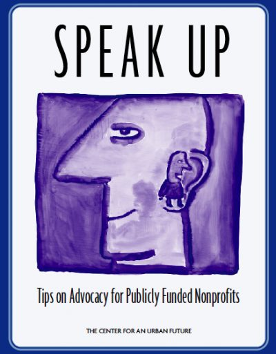 AECF Speak Up Tipsfor Publicly Funded NP