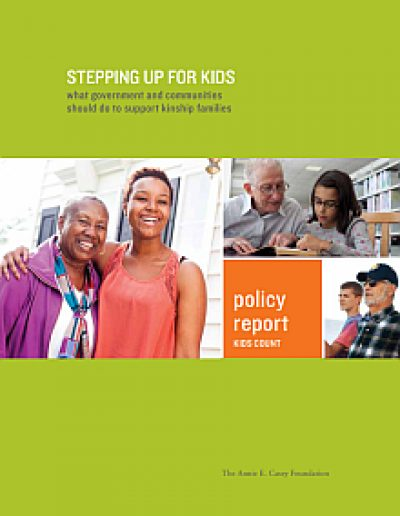 AECF Stepping Up For Kids 2012 Cover