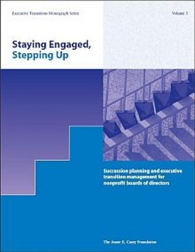 AECF Stepping Up Staying Engaged 2006 Cover