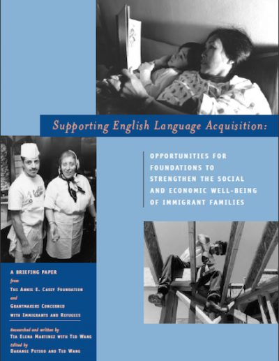 AECF Supporting English Language Acquisition 2005 cover