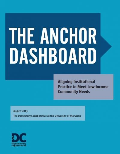 AECF The Anchor Dashboard 2013 Cover