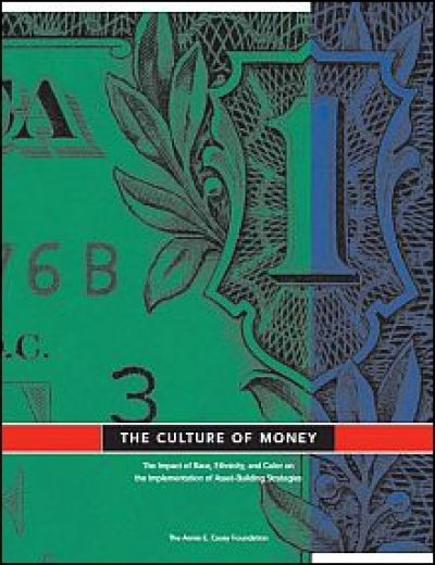 AECF The Culture Of Money 2006 Cover