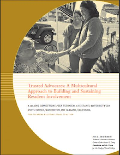 AECF Trusted Advocates 2007 cover