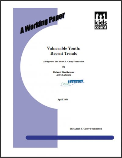 AECF Vulnerable Youth 2006 cover