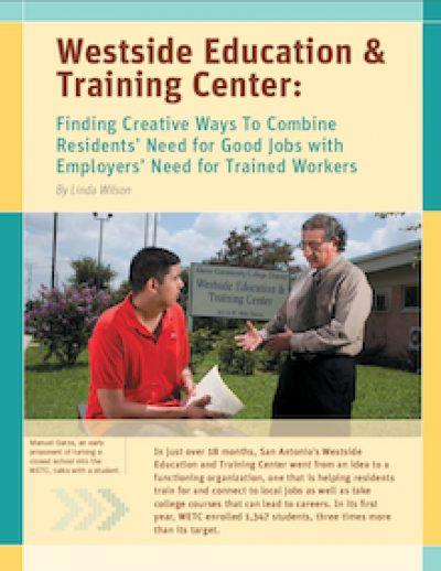 AECF Westside Educationand Training Center 2008 cover