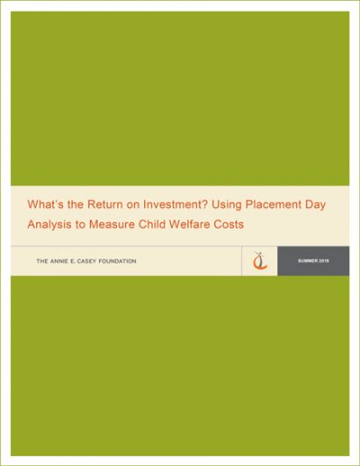 Using Placement Analysis to Measure Child Welfare Costs