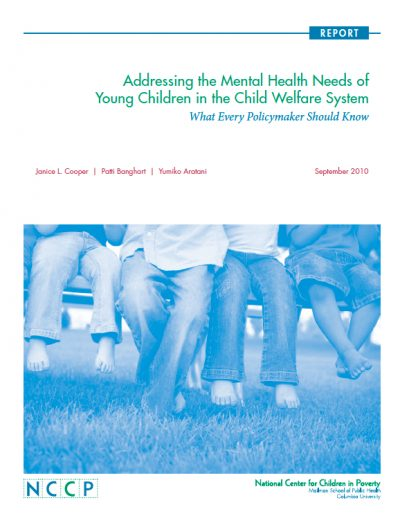 AEFC Addressing Mental Health Needs 2011