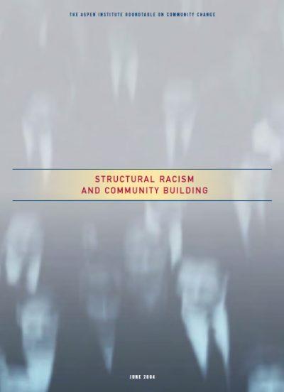 Aspen Structural Racism Community Building cover
