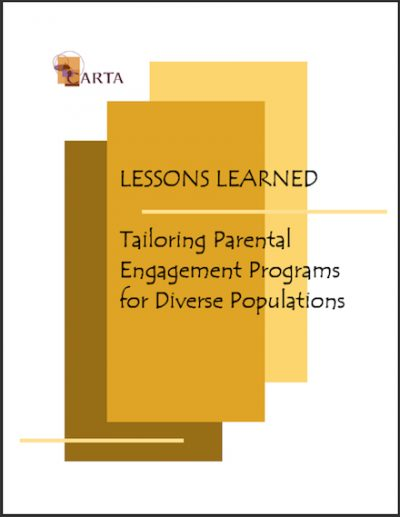 CARTA Lessons Learned 2003 cover