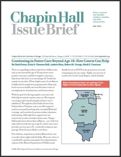 CH Continuingin Foster Care 2008 cover