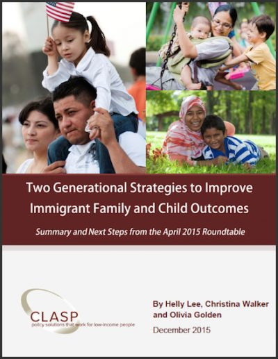 CLASP 2 Generational Strategies 2015 cover