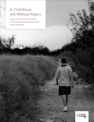 CPPP A Child Alone and Without Papers Cover 2008