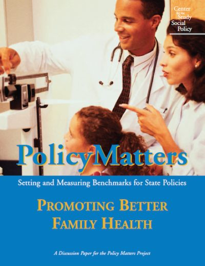 CSSP Policy Matters 2003 cover