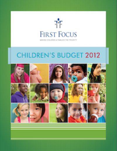 FF Childrens Budget 2012 Cover