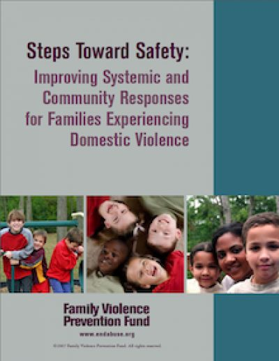FVPF Steps Toward Safety Cover 2007