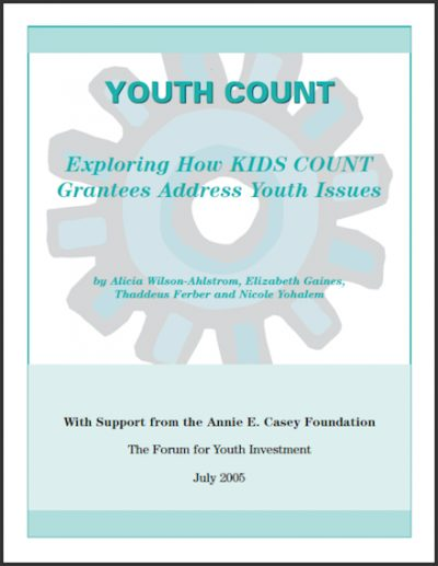 FYI Youth Count 2005 cover
