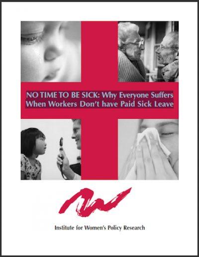 IWPR No Timeto Be Sick 2004 cover