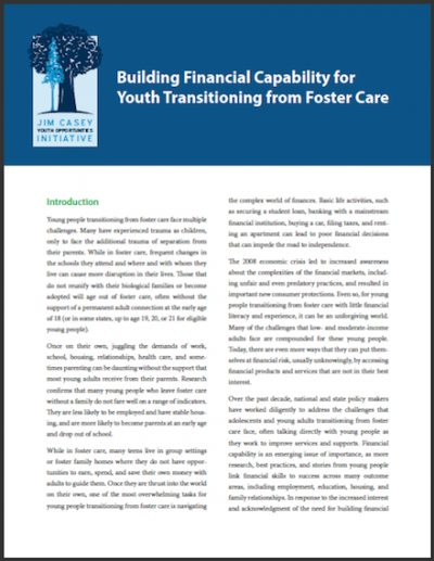 JCYOI Building Financial Capability 2014 cover