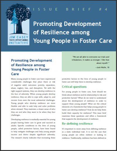 JCYOI Promoting Developmentof Resilience 2012 cover