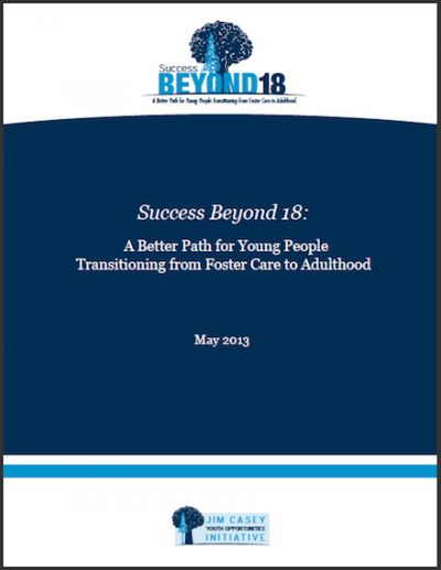 JCYOI Success Beyond18 A Better Path 2013 cover