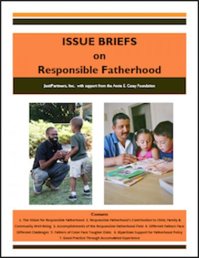 JP Issue Briefson Responsible Fatherhood 2010 cover