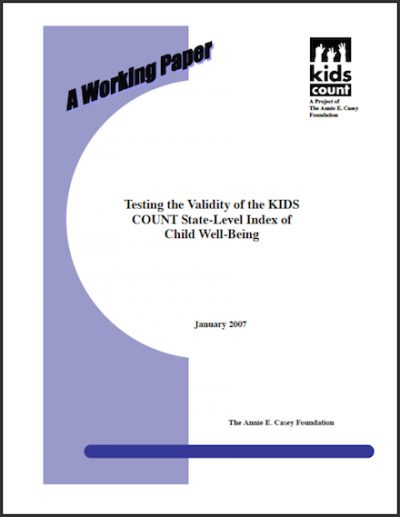 KC Testingthe Validity 2007 cover