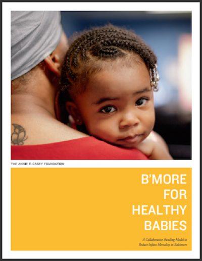 AECF Bmorefor Health Babies 2018 cover