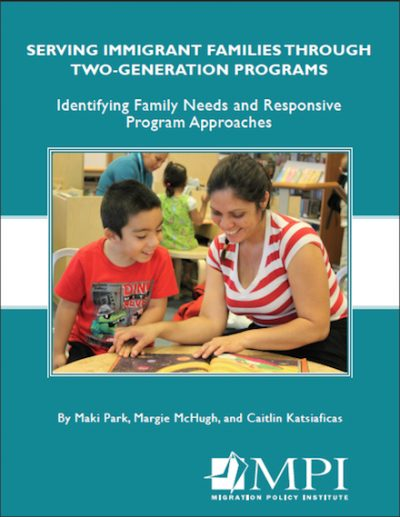 MPI Serving Immigrant Families 2016 cover