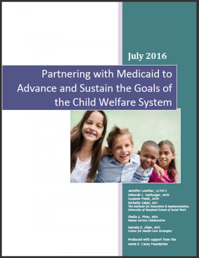 UM Partneringwith Medicaid 2016 cover