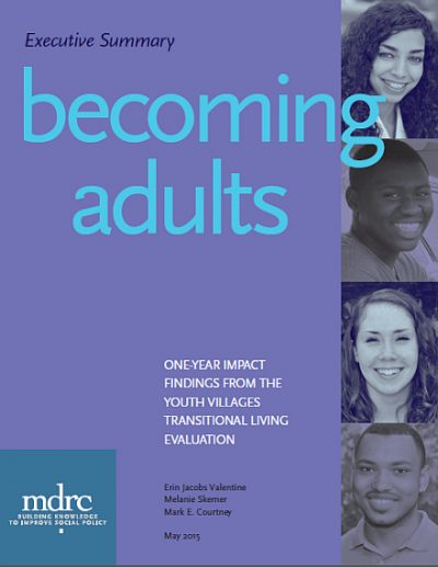 Mdrc becomingadults cover