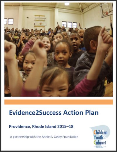 PCYC Evidence2 Success Action Plan 2015 cover