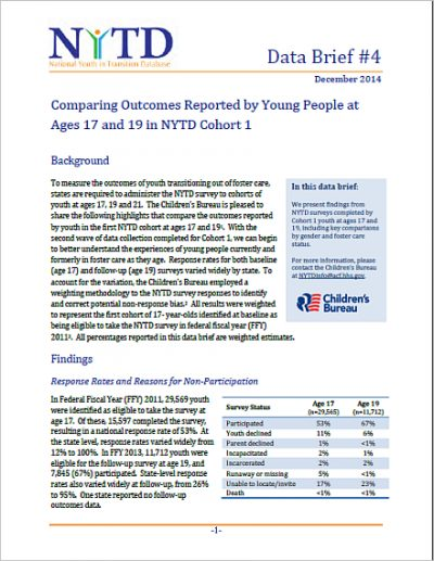 Nytd Comparing Outcomes Cohort1 cover