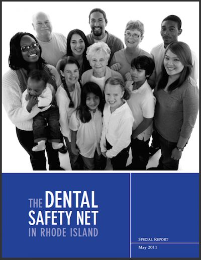 RIKC The Dental Safety Net RI 2011 cover
