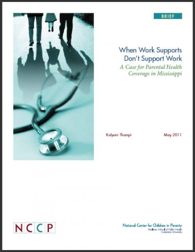 NCCP When Work Supports Dont Work 2011 cover