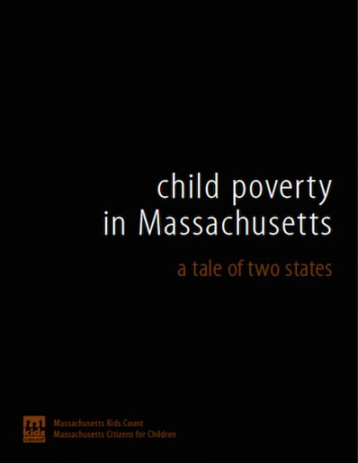MKC Child Povertyin Mass 2008 cover