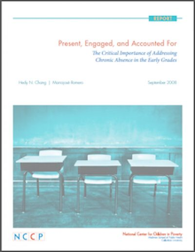 NCCP Present Engagedand Accounted For 2008 cover
