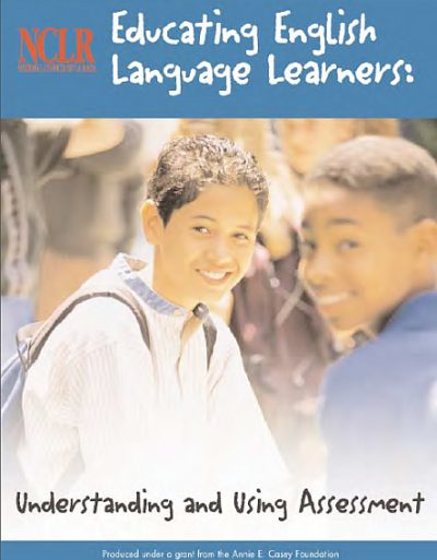 Nclr Educating English Lang Learners Using Assessment cover