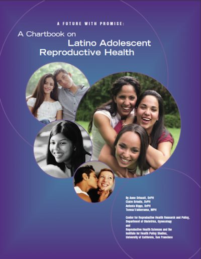 UC A Chartbookon Latino Adolescent 2004 cover