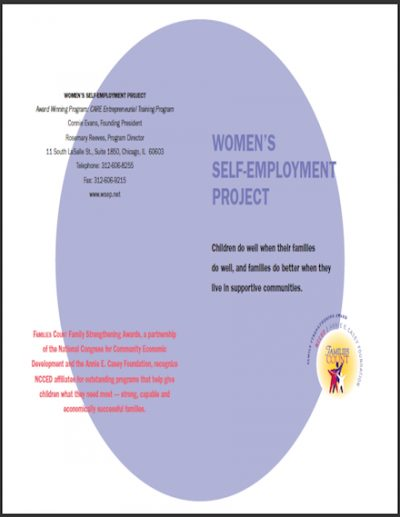 WSEP Womens Self Employment Project 2004 cover