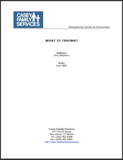 CFS Whatis Trauma 2002 cover