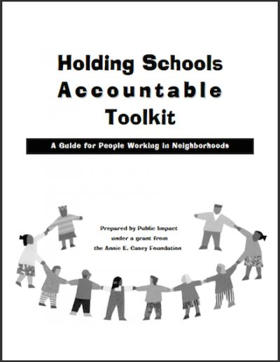 PI Holding Schools Accountable Toolkit 2000 cover