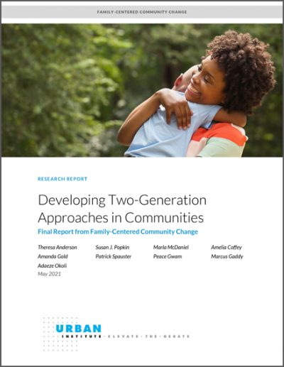 Developing Two-Generation Approaches in Communities Cover Image