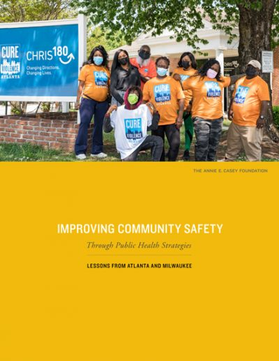 Cover of Improving Community Safety Through Public Health Strategies report